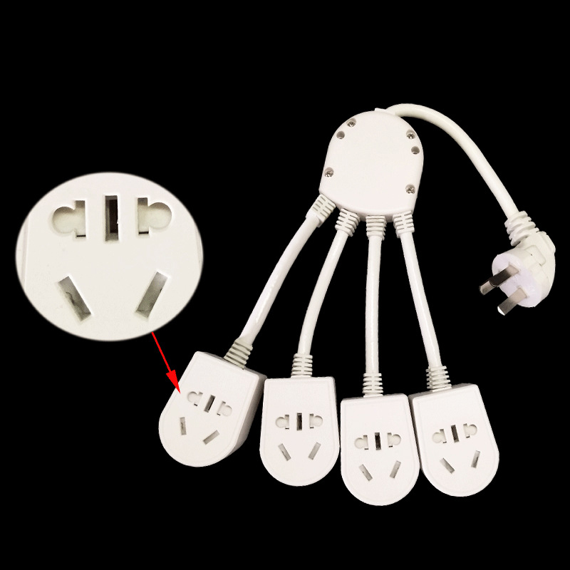 New Arrivals Creative octopus socket Multifunction power supply  Free shipping