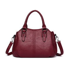 2019 New High Quality Female Tote Womens Genuine Leather Shoulder Bags Luxury Handbags Women Designer Crossbody
