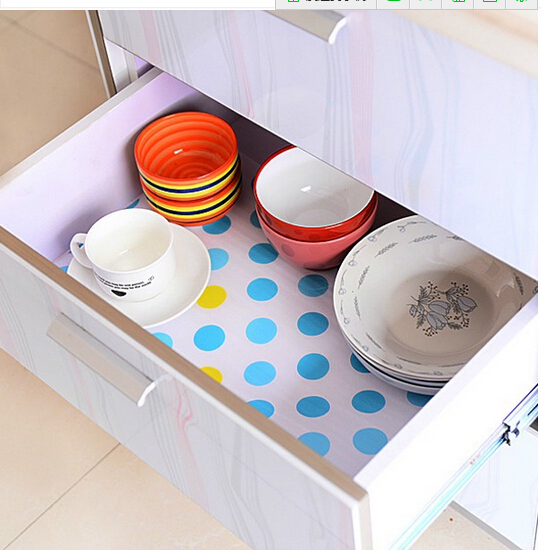 Wardrobe kitchen cabinet pad kitchen dining table antibiotic paper drawer mat
