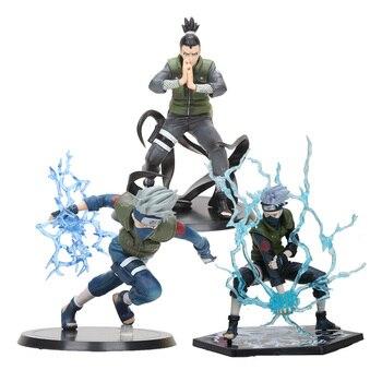 13-15 см аниме Наруто Shippuden Хатаке Какаши и нара сикамару ПВХ фигурка Коллекционная модель игрушки