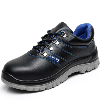 new fashion men plus size steel toe caps work safety shoes platform genuine leather tooling security boots protective footwear