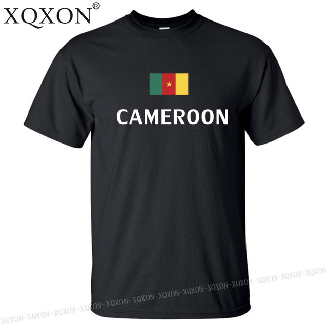 Cameroun conception t-shirt mixte été 2018
