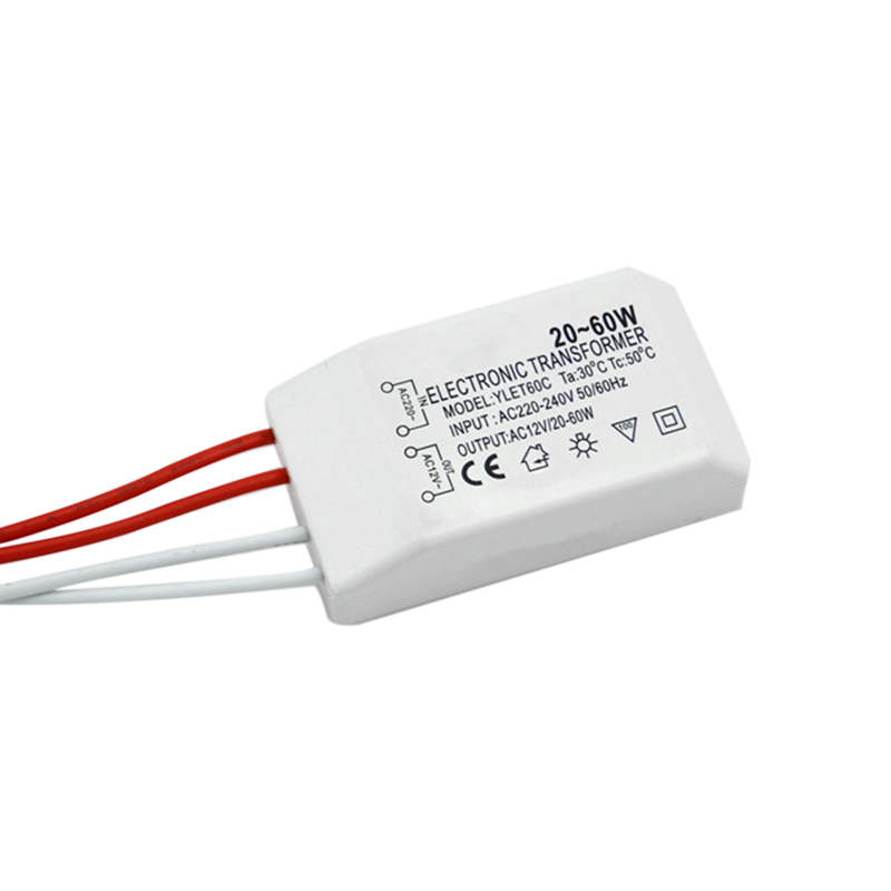 220V To AC12V Electronic Transformer LED Lamp Light Chandeliers Adapter Parts Home Office Small