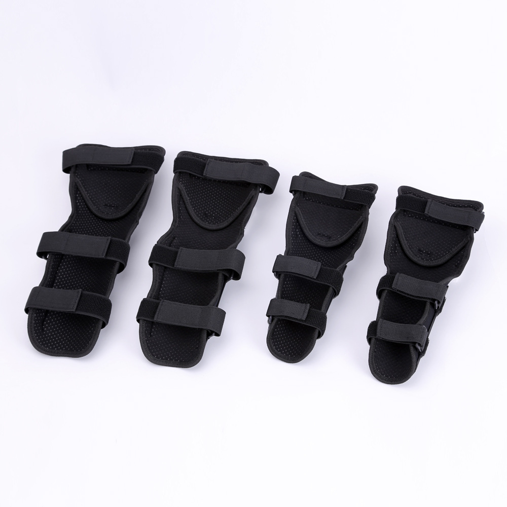 2019 Kneepad Elbow Four Paper Set Cross country Knight Protective Clothing Cycling Keep Warm Defence Fall Leggings Equipment