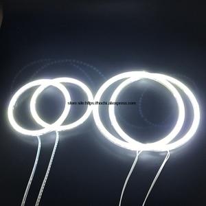 Image 5 - HochiTech עבור פולקסווגן פולקסווגן גולף 4 1998 2004 Ultra מואר SMD לבן LED עיני מלאך 12V halo טבעת ערכת בשעות היום ריצת אור DRL