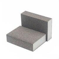 250 шт. шкуркой 80 100 сетка наждачная бумага губка наждачной бумаги полировка шлифовальная губка для полировки поверхности