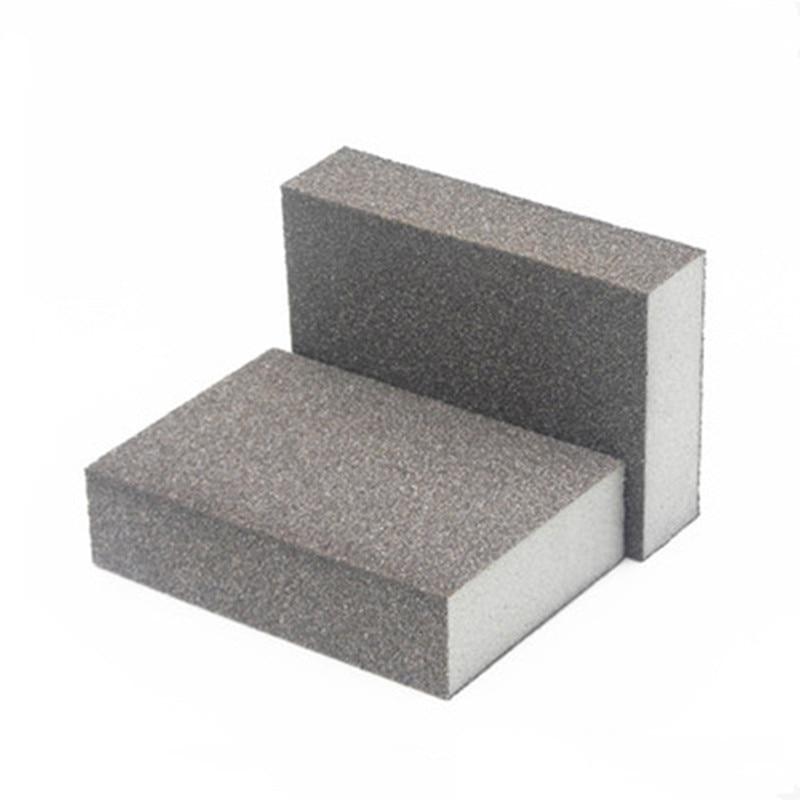 250Pcs Abrasive Cloth 80-100 Mesh Sandpaper Sponge Emery Cloth Polishing Paper Sanding Sponge For Polishing Surface