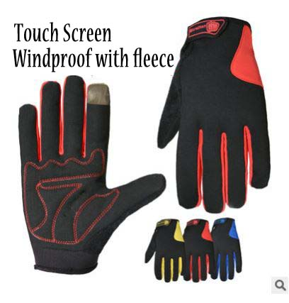GLV961 All fingers touch screen winter gloves mountain