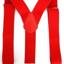 11,11 мужские подтяжки, новинка, 2 дюйма, 50 мм, ширина, черный, красный цвет, Y-Back, клип-на подтяжки, подтяжки для мужчин