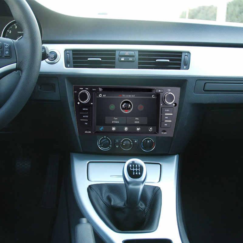 Josmile 1 喧騒車の dvd プレーヤー、 bmw E90/E91/E92/E93 2005 3 シリーズマルチメディア車ラジオ gps ナビゲーションシステム、オーディオヘッドユニット 3 グラム