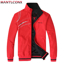 MANTLCONX Новый Для мужчин Куртки 2019 Новая повседневная куртка Для мужчин Высокое качество пальто на весну-осень 5XL 6XL Для мужчин s куртки и пальто мода