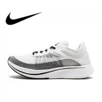 Nike Lab Zoom Fly SP 4% Мужская дышащая Беговая Спортивная обувь Кроссовки мужские дизайнерские низкие спортивные хорошего качества AA3172 101