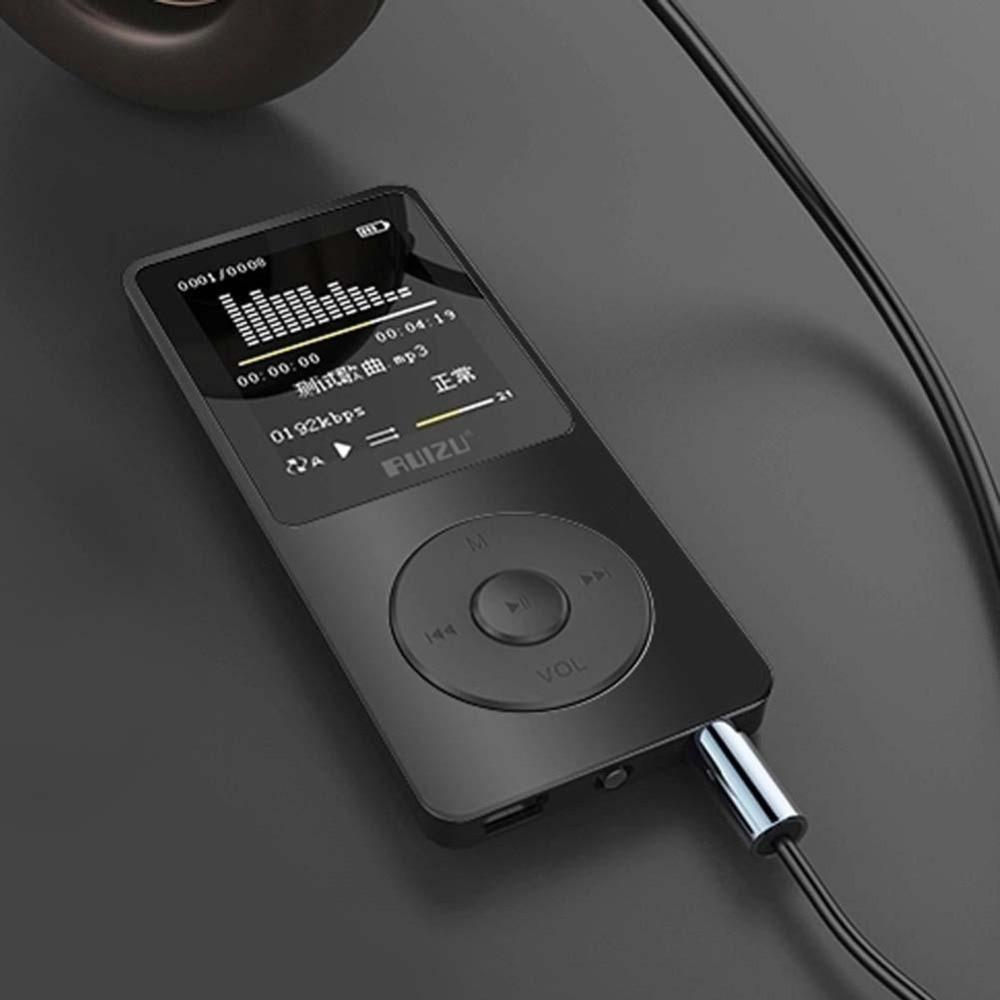 Tragbares Audio & Video Ruizu X02 Ultradünne Mp3 Player Usb 4 Gb Speicher 1,8 Zoll Bildschirm Spielen 80 H Hohe Qualität Mp3 Spieler Radio Fm E-book Musik Player