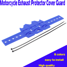 цена на Universal Motorcycle Exhaust Protector Cover Guard Anti-hot For YAMAHA YZ250 YZ250F YZ400F YZ426F YZ450F WR250 WR450F 250-450cc