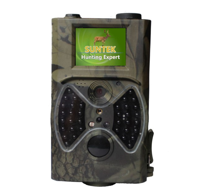 (1set) 12MP Wildlife Digital Infrared Trail Camera with 1080P HD Video Clips High Sensitive Passive Infrared (PIR) Motion Sensor