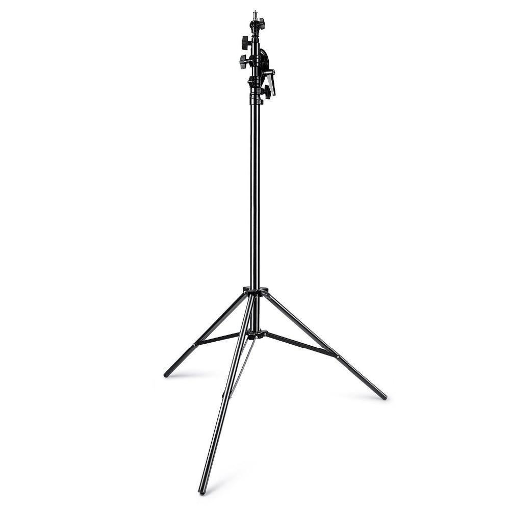 Neewer Max 13ft/390cm Two Way Rotable Aluminum Adjustable Tripod Boom Light Stand with Sandbag for Studio Photography Video