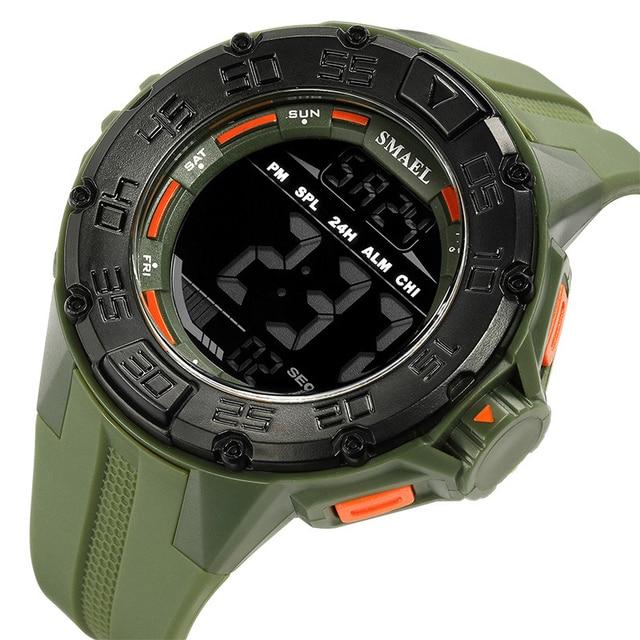 שעון יד דיגיטלי לצלילה וספורט לגבר