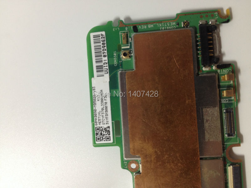 Motherboard for google nexus 7 2nd 2013 LTE 4G version 32GB new and free shipping free tools