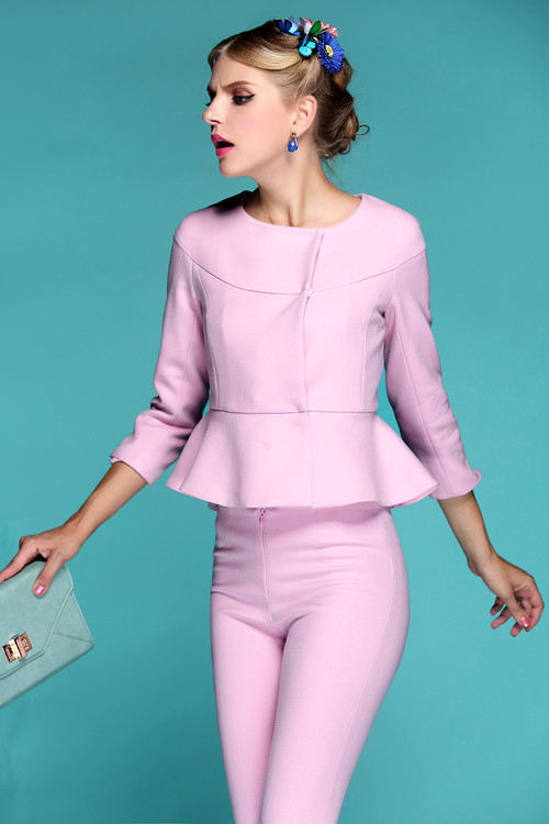Elegant Trouser Suits for Ladies New 2015 Fashion Spring Summer ...