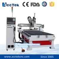 automatic tool changer cnc wood working machine china cnc milling machine cnc atc 1325 for furniture legs