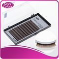 5 boxes/set Hot sell thick eyelash color chocolate lash Extensions false eyelash single eyelashes,nature eye lashes