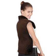 Electric Heating Moxibustion Shawl Far Infrared Physiotherapy Vest Back Support Heating Pad Suitable For Back Pain Relief Care modern rock music box 4 cd