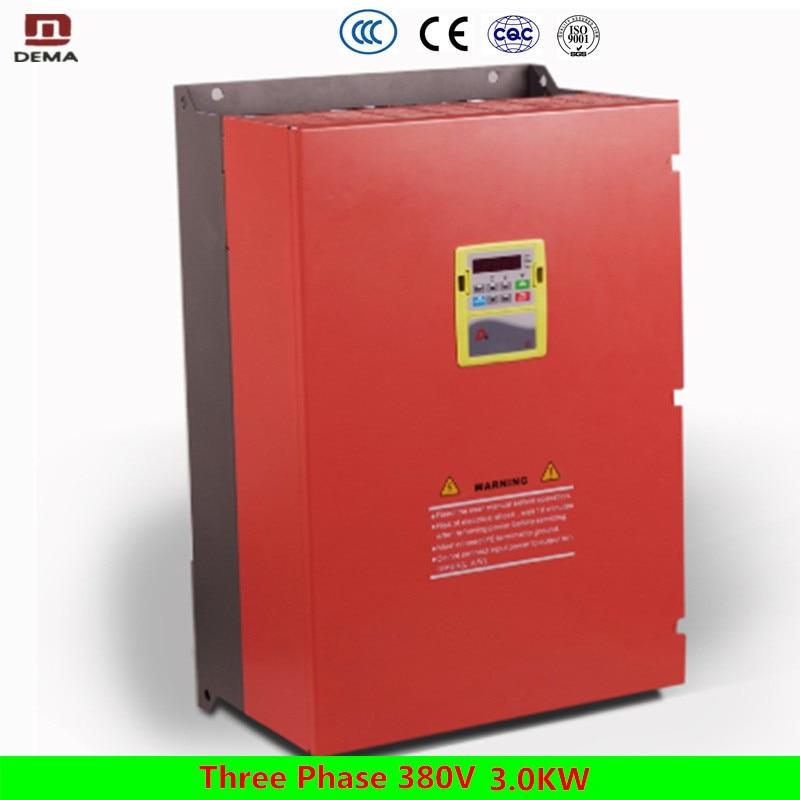 цена на DEMA D6B Series Vector Universal 3.0KW Variable Frequency Inverter Three Phase 380V Input AC Motor/Frequency Inverter/AC Drive