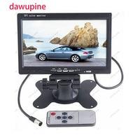 7 Inch CAR Display Monitor TFT Color LCD Car Rear View Camera Monitor For DVD VCD