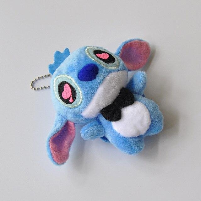 10cm 1pcs High quanlity Big Ears Plush Doll Toys Anime Plush Toys Keychain for Children Kids Birthday Gift