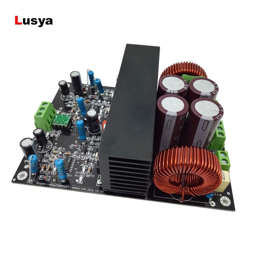 IRS2092 High Power 2 600W 4ohm 2 300W 8ohm Class D HiFi Stereo amplifier board Assembled