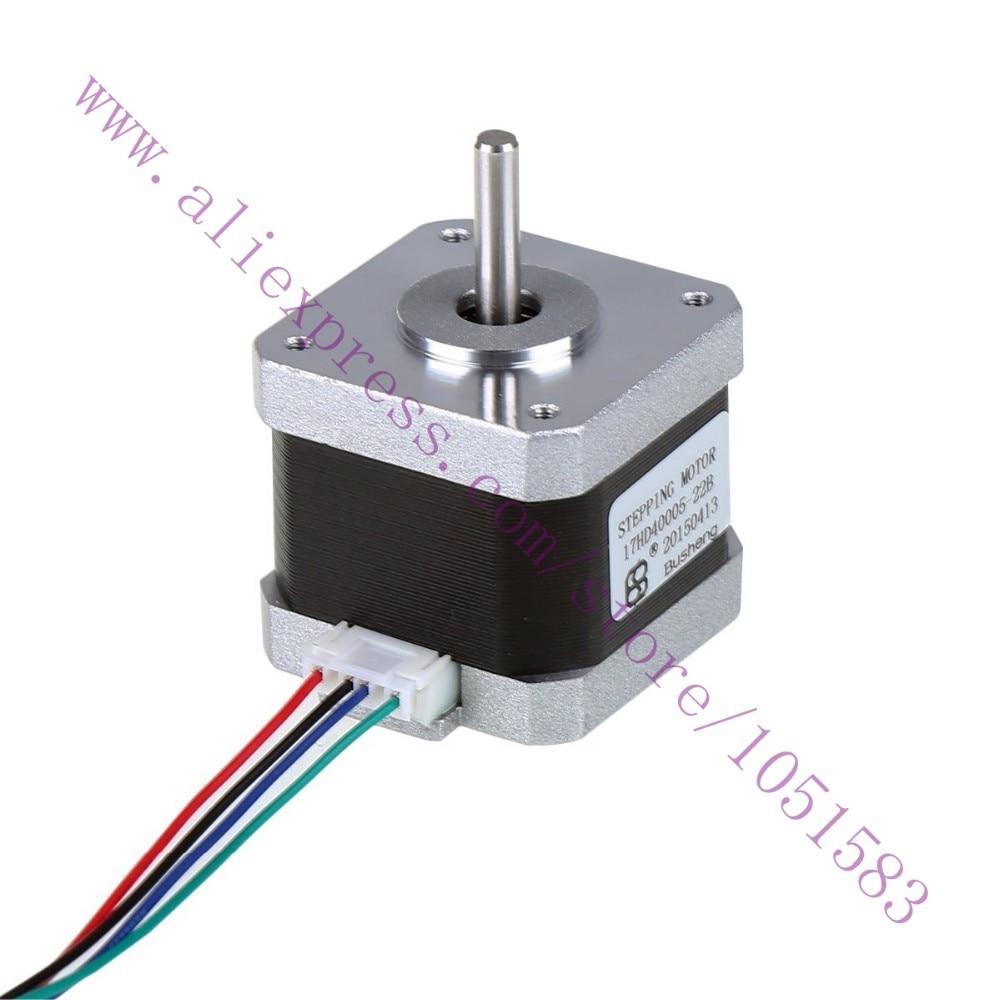 3d printer parts 2phase hybrid stepping motors Nema17HD40005-22B 1.5A 57g.cm2 Lenth 40mm