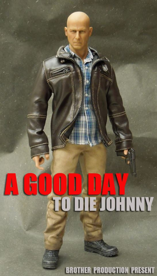 1/6 scale figure doll A GOOD DAY TO DIE JOHNNY Bruce Willis .12 action figures doll.Collectible figure model toy consenting to die