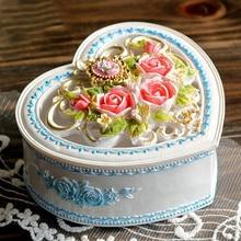 Romantic Rose Music Box Heart The Music Box Heaven Of City Birthday Gift Originality Gift