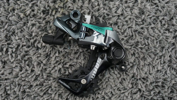 <font><b>SRAM</b></font> FORCE CX1 RODE Bike Bicycle Rear Derailleur <font><b>11Speed</b></font> medium Cage Black image