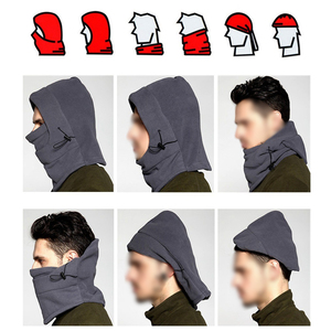 Image 3 - Windproof Winter warm Fleece hats for bandana neck warmer balaclava snowboard face mask, Special Forces mask Thicker caps