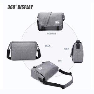 Image 3 - New 2019 Men Messenger Bags Mens Fashion Business Travel Shoulder Bags female Canvas Briefcase Men Crossbody Bag Unisex Handbag