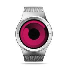 Ventas calientes de Moda de Lujo cuarzo de las señoras relojes Hombres reloj del negocio del deporte diseño de los amantes del reloj impermeable del reloj de acero inoxidable