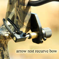Arrow Rest Compound Bow Accessory For RH Type Recurve Bow Hunting Right Hand Estilingue Arrow Shooting Archery Accessories