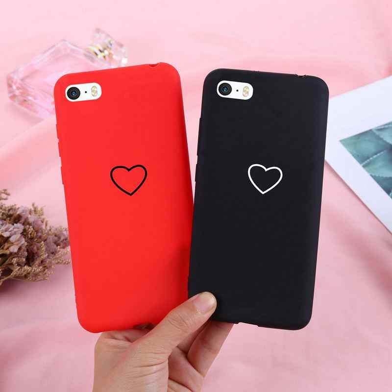 J&R Soft TPU Phone Case For iPhone 5 5S SE 5C 4 4S 6 6s 7 8 X XS max XR Cover Silicone For iPhone 6 6s 7 8 Plus Cases Matte