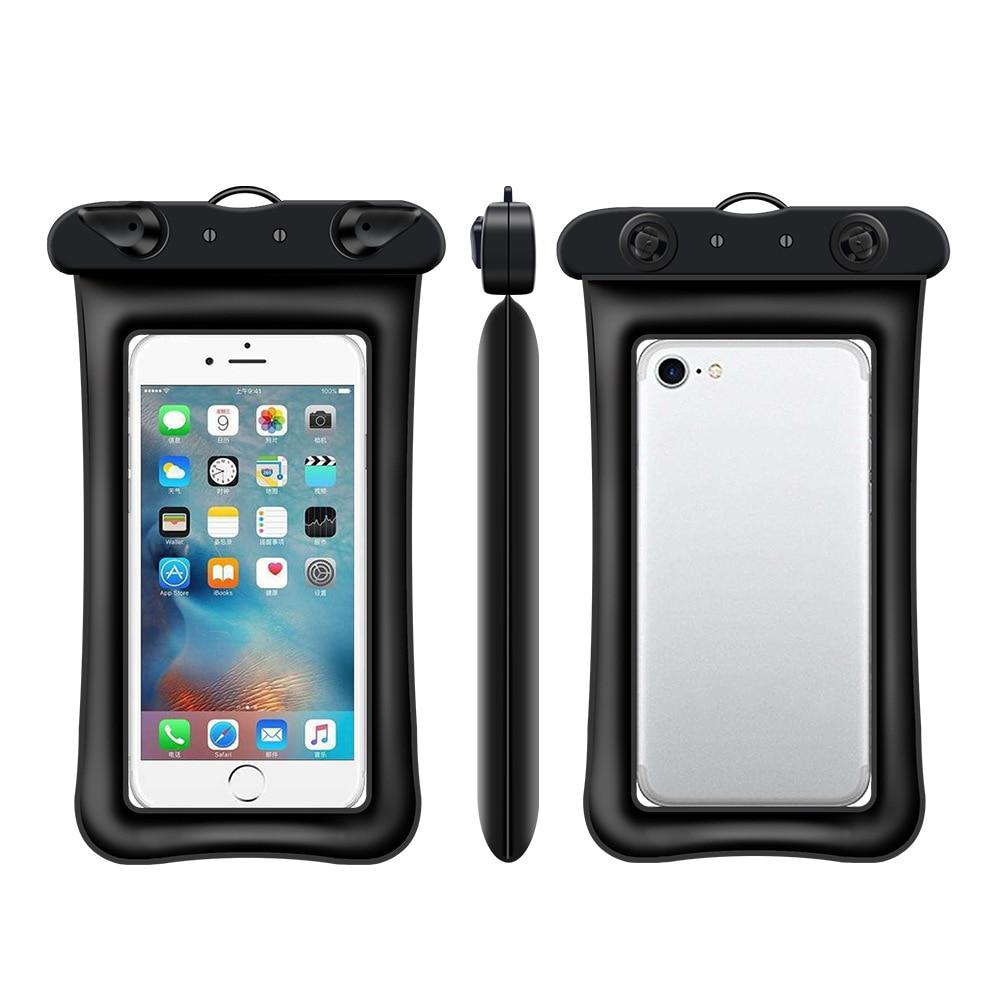 Floatable Waterproof Phone Case Dry Bag Cover 6.0
