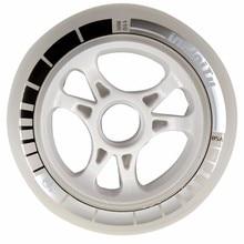 Free Shipping Professional Speed Skate Shoes Wheel Inline Skate wheel Roller Skating Wheel BIG wheels 100 110mm black white red