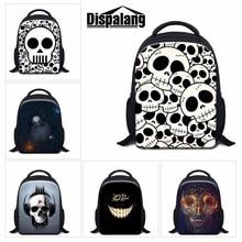 Skull Backpacks for Kids Children Cool School Bookbags for Boys Little Girls Kindergarter Back Pack Small Mochilas Traveling Bag