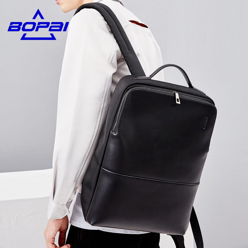 2017 BOPAI Brand waterproof 15 inch laptop backpack men backpacks for teenage girls summer school backpack bag women+Free gift swisswin hot sale swiss 15 inch laptop bag case men women backpack wholesale price backpacks 2015 new brand cooler bag black