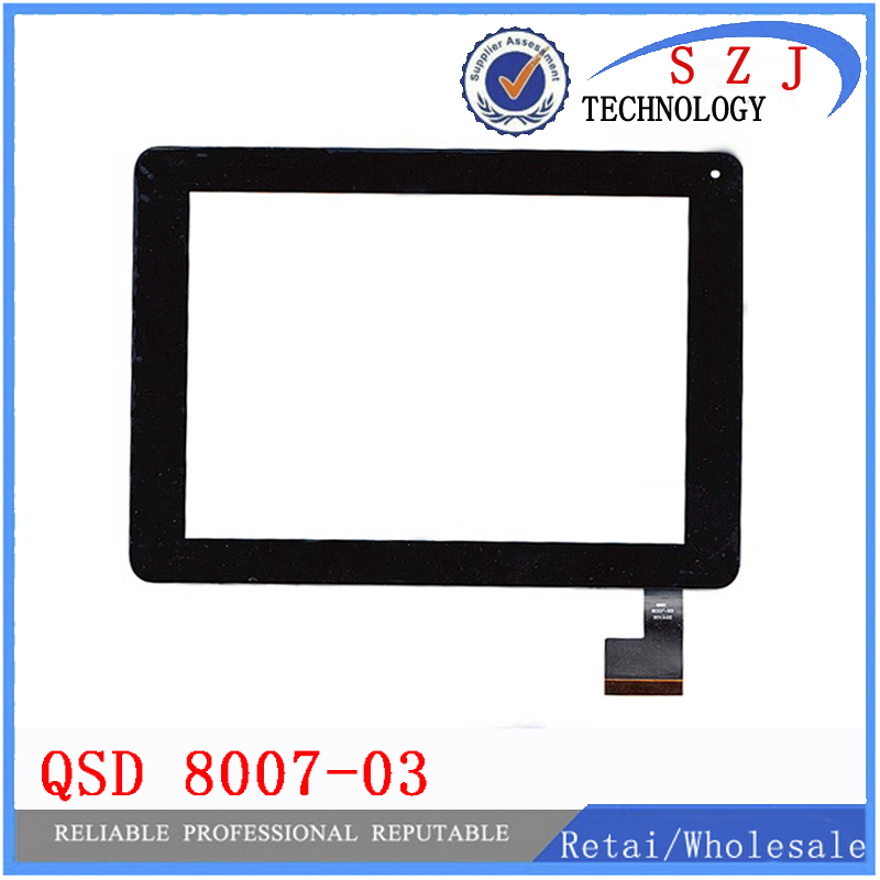 New 8'' inch Touch screen QSD 8007-03 for Digma iDsD8 3G touch panel Digitizer Glass Sensor Replacement Free Shipping a new for bq 1045g orion touch screen digitizer panel replacement glass sensor sq pg1033 fpc a1 dj yj313fpc v1 fhx