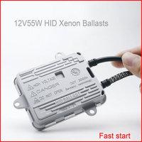 2X MGTV 12V55W AC 100 DSP Slim HID Xenon Ballast Fast Start 55W Ballast Quick Bright