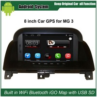 Upgraded Original Car Radio Player Suit to Morris Garages MG3 MG 3 Car Video Player Built in WiFi GPS Navigation Bluetooth