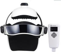 Music electric Head and scalp massager brain massage improves sleep Body vibration machine Massage pillow free shipping