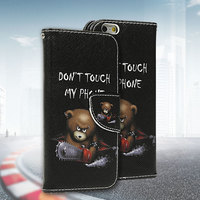 Leather Flip Cover Case For Samsung Galaxy S3 S4 S5 Mini Note 3 4 5 S6