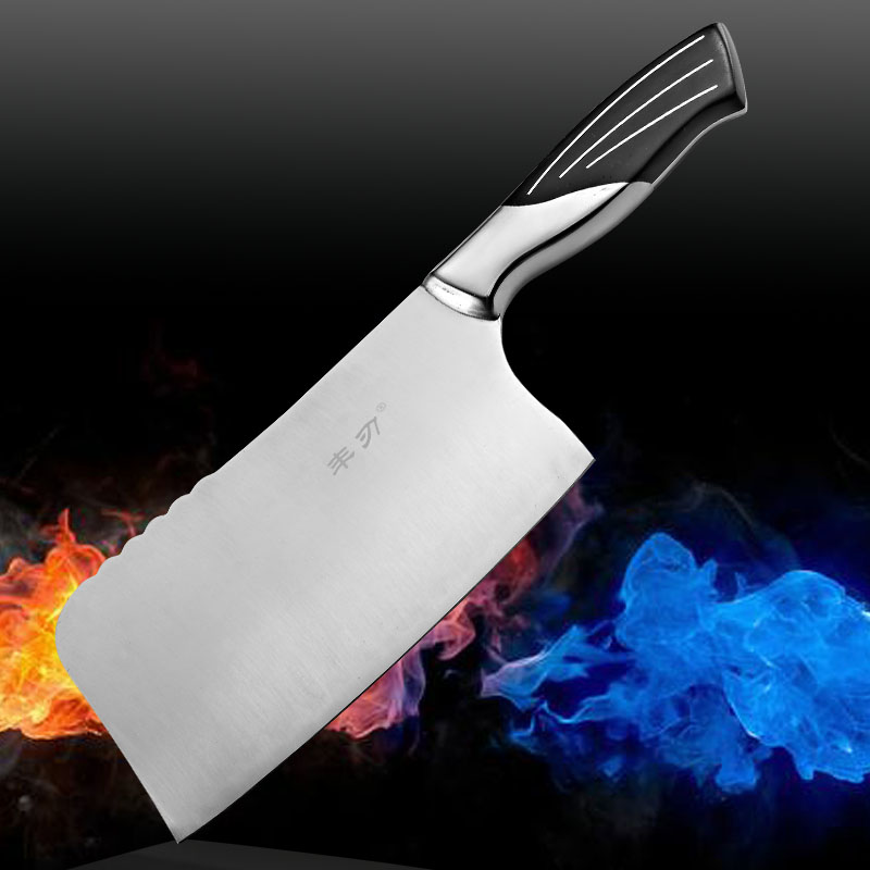 Stainless steel chop bone boning kitchen font b knives b font cooking tools beef sclerite cutting