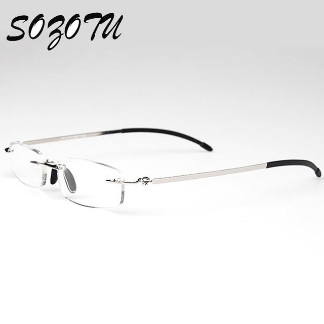 Moda óculos de Leitura Magnética Óculos De Dioptria Óculos de Prescrição de Óculos Para Presbiopia Com Caso + 1.0 + 1.5 + 2.0 + 2.5 + 3.0 + 3.5 + 4.0 YQ031